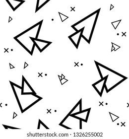 pattern simple wallpaper design traingles