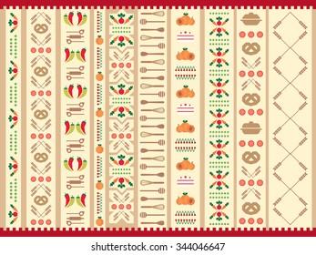Pattern in Slavic style, vector, eps 10