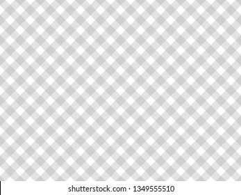 Pattern stripe seamless gray and white colors. Geometric pattern stripe tartan abstract background vector.