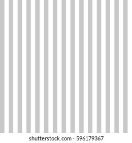 Pattern stripe seamless gray and white colors. Vertical pattern stripe abstract background vector.
