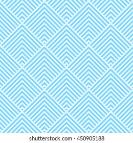 Pattern stripe seamless light blue color.Striped abstract background vector.