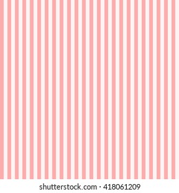 Pattern stripe seamless pink colors design for fabric, textile, fashion design, pillow case, gift wrapping paper; wallpaper etc. Vertical stripe abstract background vector.