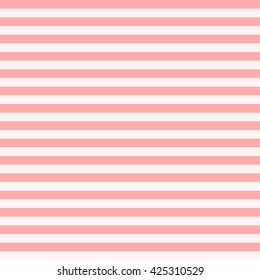 Pattern stripe seamless pink colors design for fabric, textile, fashion design, pillow case, gift wrapping paper; wallpaper etc. Horizontal stripe abstract background