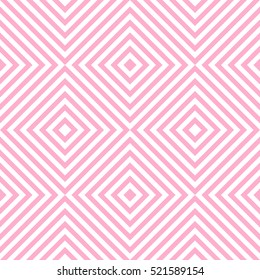 Pattern stripe seamless pink and white colors. Geometric pattern stripe chevron abstract background vector.