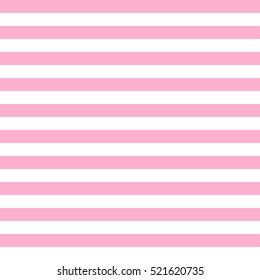 Pattern stripe seamless pink and white colors. Geometric pattern stripe horizontal abstract background vector.