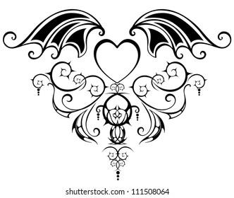 Tattoo Vampire Images Stock Photos Vectors Shutterstock Vampire tattoo images & designs. https www shutterstock com image vector pattern stylized heart vampire webby wings 111508064