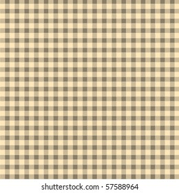 Pattern tablecloth picnic vector