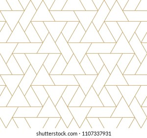 Pattern with thin lines, poligons and geometric shapes. Seamless linear swatch. Stylish fractal texture. Abstract arabic background.