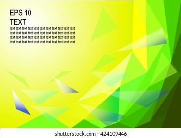 Pattern: Vector  geometric background in Brazil