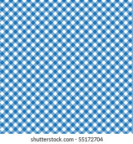 Pattern vector picnic blue