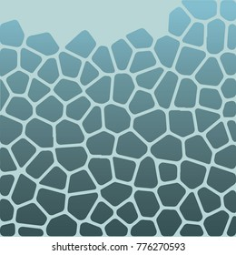 The pattern of the Voronoi, the Giraffe, the natural