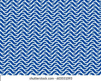 pattern wave sea