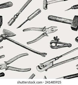 pattern of the work tools