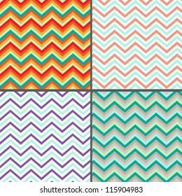Pattern zigzag