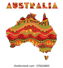 Australia Word Map.Australia Word Images Stock Photos Vectors Shutterstock