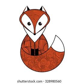 Patterned fox