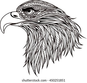 Image result for eagle mandala coloring pages | Owl coloring pages ... | 280x295