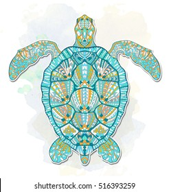 Sea Turtle Tattoo Images Stock Photos Vectors Shutterstock