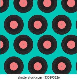 patterns of vinyl records