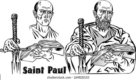 Paul the Apostle, the Christian religious leader.