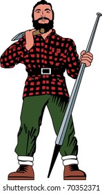Paul Bunyan (raster version also available)