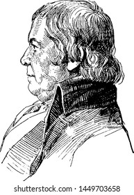 Paul Revere, vintage engraved illustration