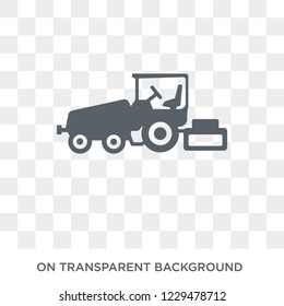 Paving icon. Trendy flat vector Paving icon on transparent background from Construction collection. High quality filled Paving symbol use for web and mobile