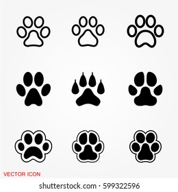 Paw icons