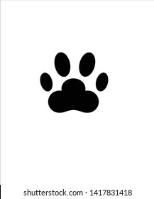 paw icon,vector best flat icon.