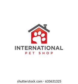 paw logo icon vector template