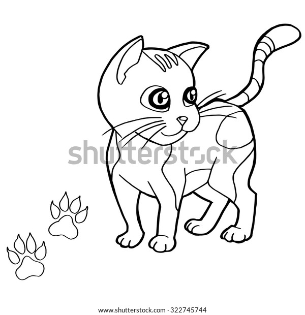 Kitten Coloring Pages to Print | ... Coloring Pages 34 – Free ... | 620x600
