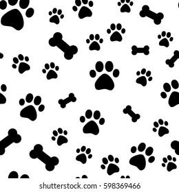 Dog Print Images Stock Photos Vectors Shutterstock