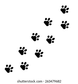 Wolf Paw Print Images Stock Photos Vectors Shutterstock Choose from over a million free vectors, clipart graphics, vector art images, design templates, and illustrations created by artists worldwide! https www shutterstock com image vector paw print vector 263479682