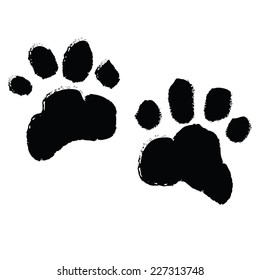 paw print dog images stock photos vectors shutterstock rh shutterstock com dog paw print vector free download dog paw print vector free download
