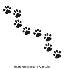 Royalty Free Cat Paw Print Images Stock Photos Vectors Shutterstock