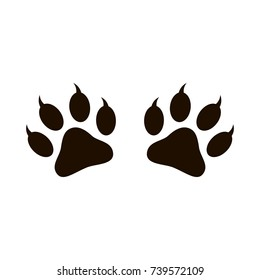 Cat Paw Print Images, Stock Photos & Vectors | Shutterstock