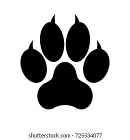 paw print logo images stock photos vectors shutterstock rh shutterstock com paw login paw logo du