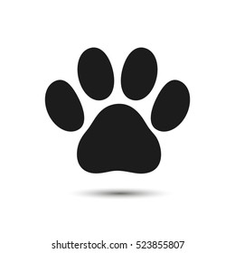 paw vector icons