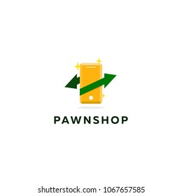 Pawnshop logotype for your company