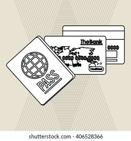 Payment with credit card  design, vector illustration