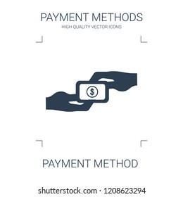 payment method icon. high quality filled payment method icon on white background. from payment methods collection flat trendy vector payment method symbol. use for web and mobile