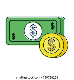 payment online banknote coin dollar money currency