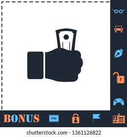 Payment. Perfect icon with bonus simple icons