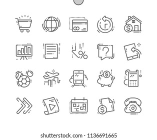 Payment system Well-crafted Pixel Perfect Vector Thin Line Icons 30 2x Grid for Web Graphics and Apps. Simple Minimal Pictogram