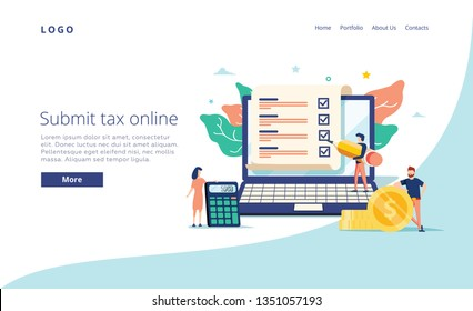 Payroll, salary payment administrative vector illustration concept, women accountant calculating payment check, can use for, landing page template, ui web, mobile app, poster or banner, flyer