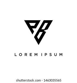 pb initial logo, bp initial logo