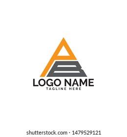 pb logo design vector template