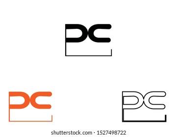 pc logo,p logo,pc vector logo,business logo,company logo