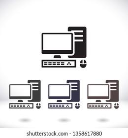 PC vector icon