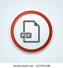 PDF download button illustration